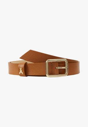 BASIC BELT - Belte - cuoio/gold-coloured