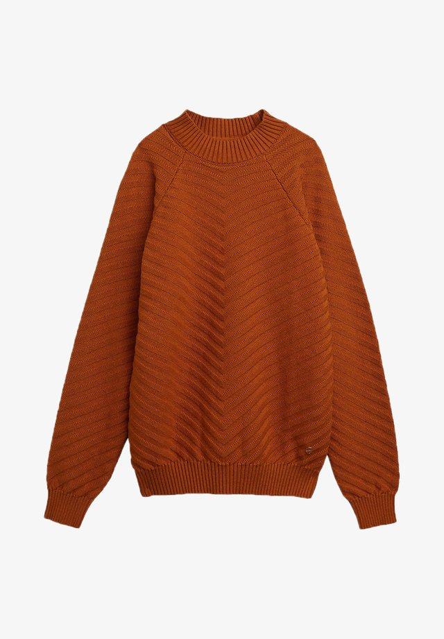 Jumper - rust brown