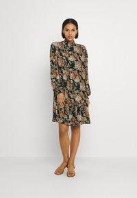 ONLY - ONLMIA SMOCK DRESS - Kjole - black - 0