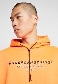 Good For Nothing - OVERSIZED HOODIE - Felpa con cappuccio - orange - 4