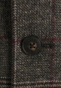 Les Deux - MADISON CHECK COAT - Classic coat - grey - 3