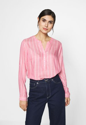 STRUCTURED BLOUSE - Blouse - pink