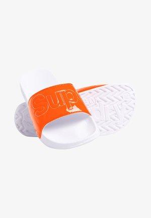 POOL SLIDE - Muiltjes - fluro orange