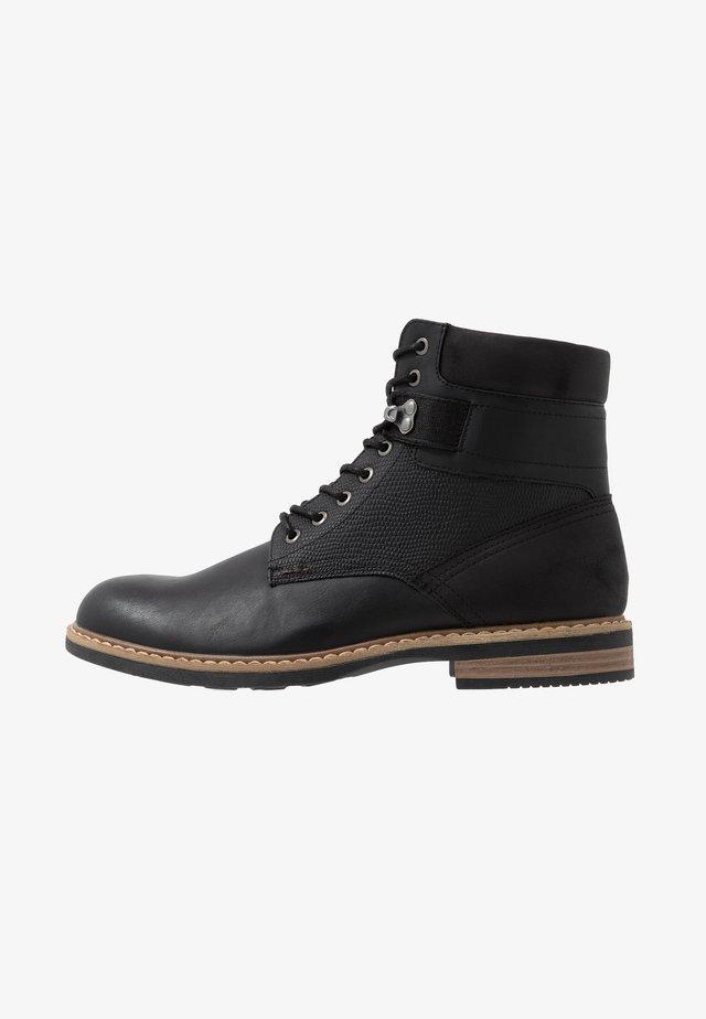 ELTHAM - Lace-up ankle boots - black
