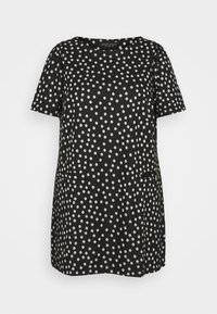 Dorothy Perkins Curve - SPOT PUFF SLEEVE - T-shirt print - multi - 3