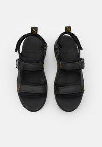 Dr. Martens - FORSTER UNISREX - Walking sandals - black - 3