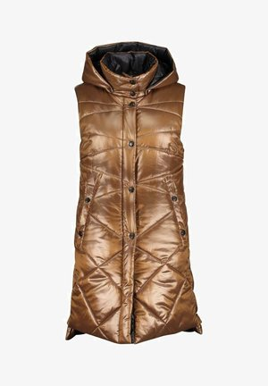 GIL BRET  - Waistcoat - bronze