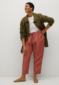 Violeta by Mango - COTILI8 - Trousers - pink - 1