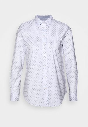 JAMELKO LONG SLEEVE - Blusa - white/estate blue