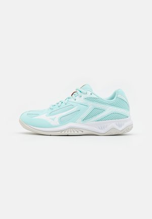 THUNDER BLADE 3 - Volleyball shoes - clearwater/white/tennis ball