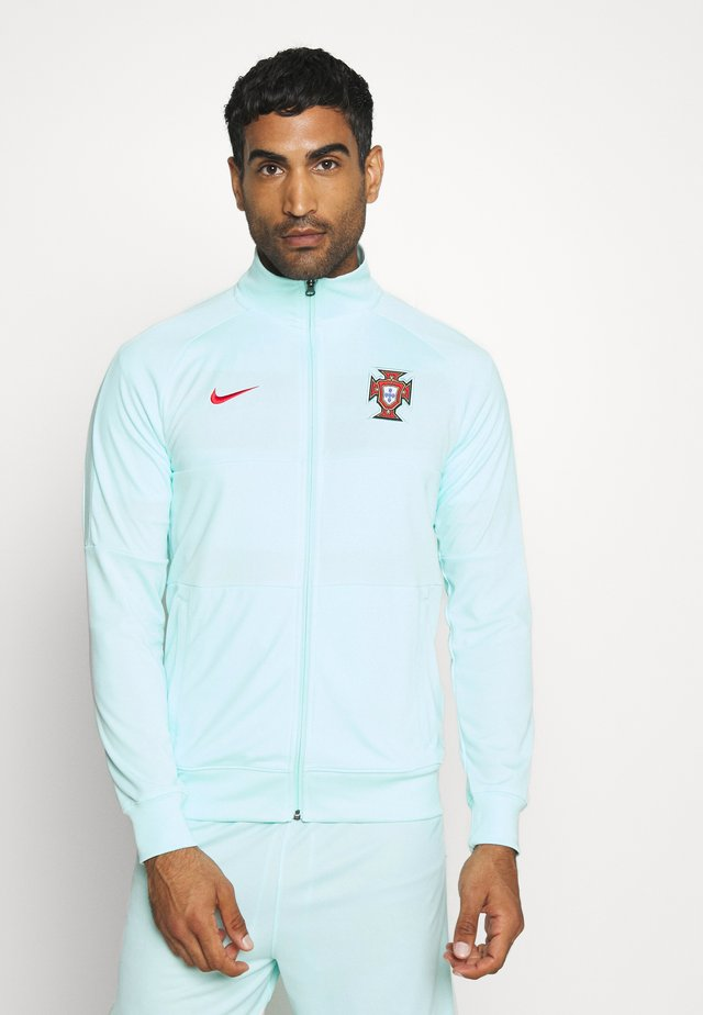 PORTUGAL FPF - National team wear - teal tint/sport red