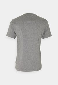 Calvin Klein - CHEST BOX LOGO - Print T-shirt - grey - 1
