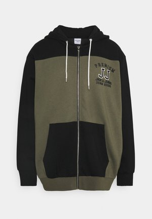 JPRBOUND ZIP HOOD - Zip-up hoodie - black