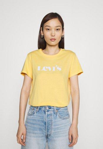 THE PERFECT TEE - Print T-shirt - golden hazee