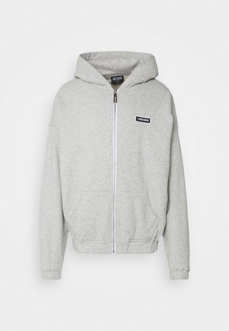 WRSTBHVR - UNISEX  - Zip-up hoodie - grey