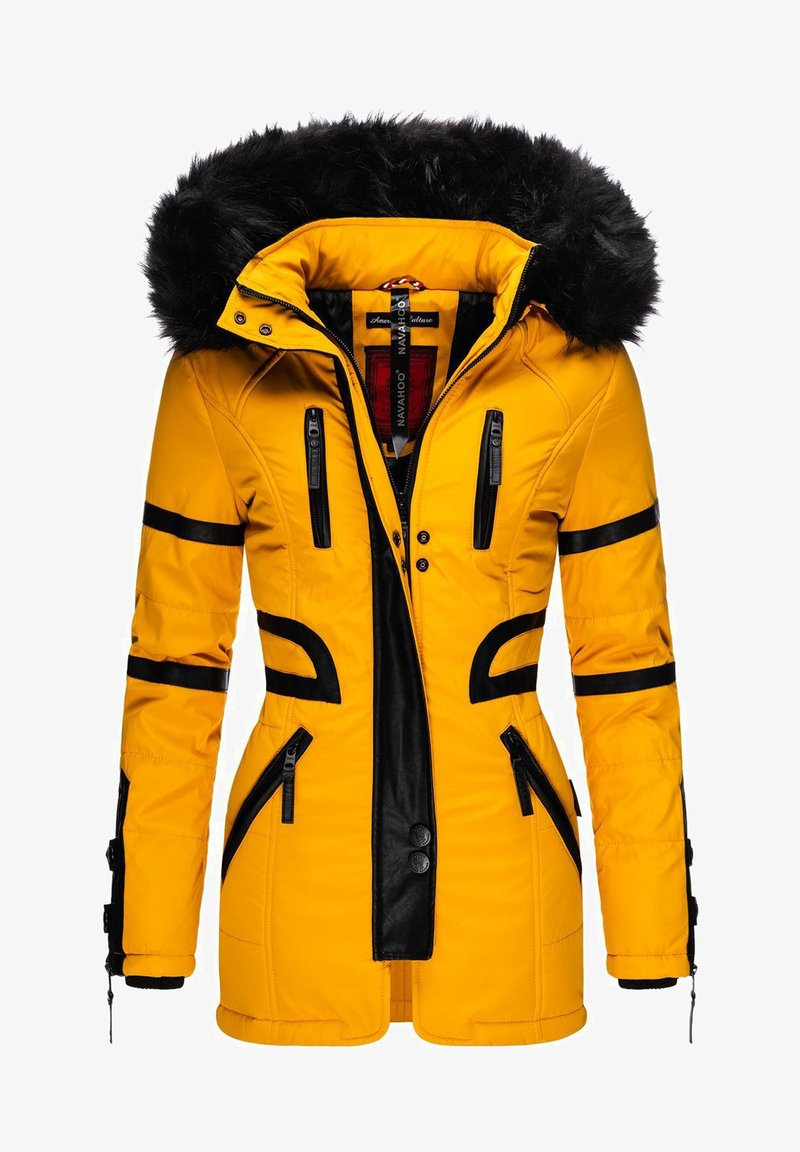 Navahoo - MOON - Winter coat - yellow