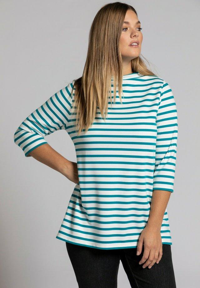 T-shirt à manches longues - caraïbisch groen