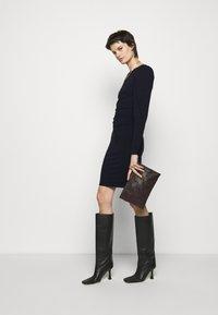 DESIGNERS REMIX - STRETCH SLEEVE DRESS - Jersey dress - black - 1
