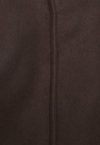 Vero Moda Petite - VMBRUSHEDKATRINE JACKET - Manteau court - chocolate plum - 3
