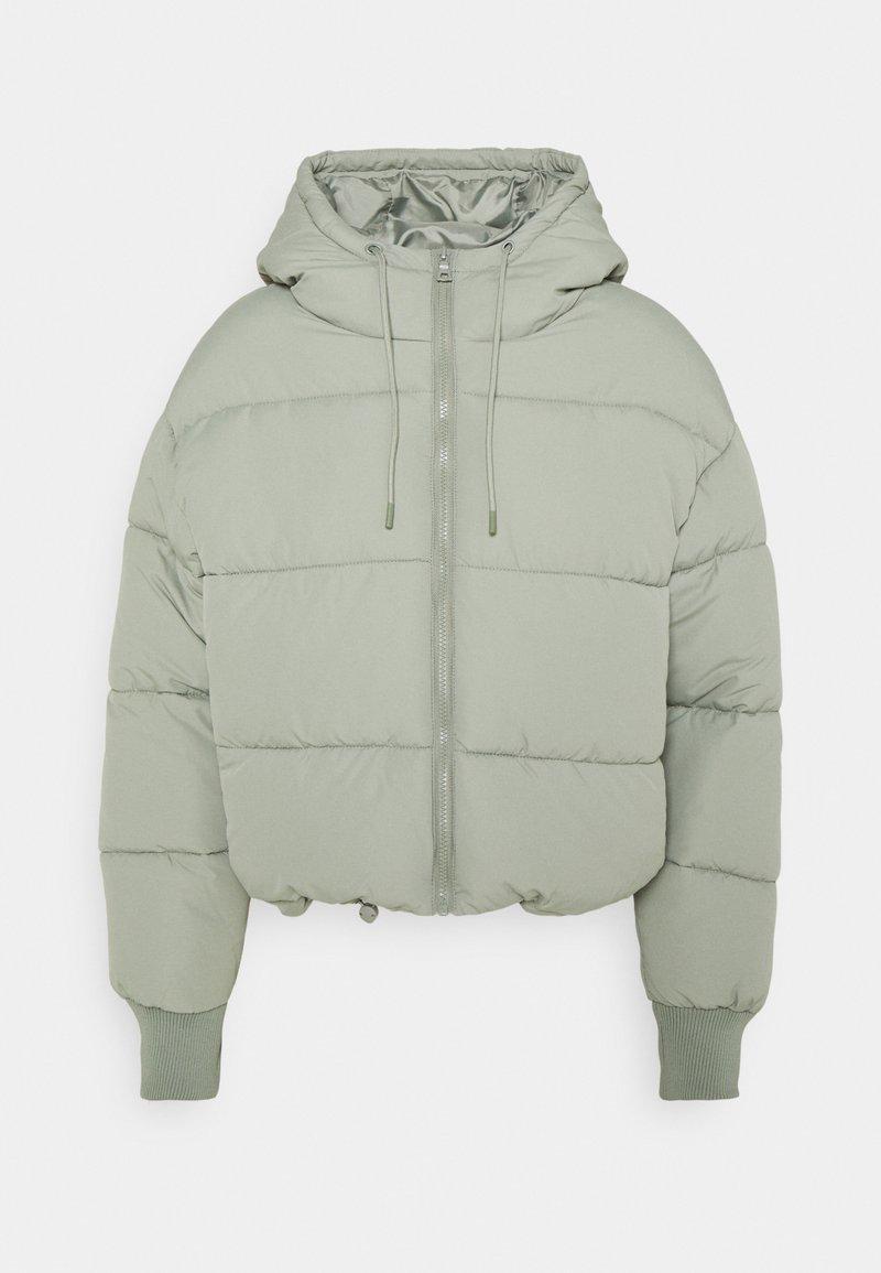Monki - Winter jacket - khaki green dusty light