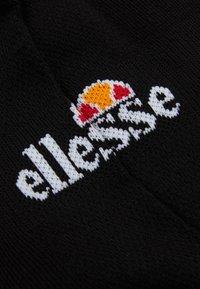 Ellesse - TEBAN UNISEX 6 PACK - Ankelsockor - black - 1