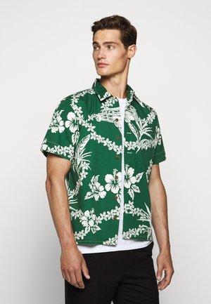 PRINT BEACH - Camicia - green
