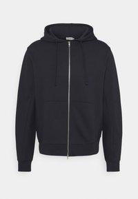 ALDOUS ZIP HOODIE - Zip-up sweatshirt - navy
