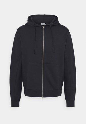 ALDOUS ZIP HOODIE - Zip-up hoodie - navy