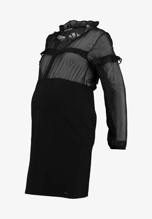 DRESS PONTE VOILE - Jerseyjurk - black