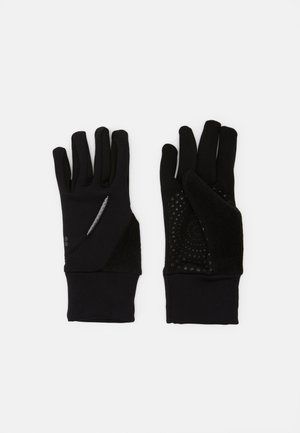 RUN GLOVES - Fingerhandschuh - black