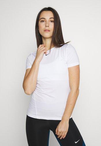 ALL OVER - Camiseta básica - white