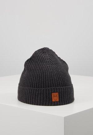 RIBBING HAT SHORT - Čepice - dark grey