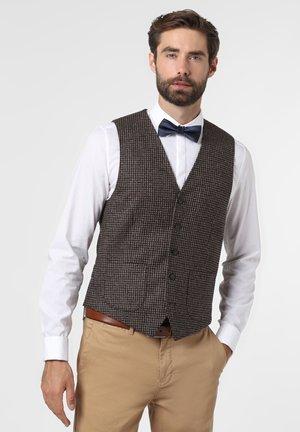 WILLIAM - Suit waistcoat - kastanie tanne