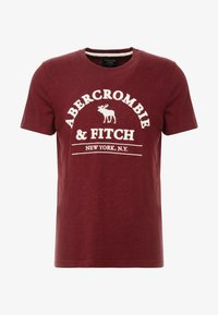 Abercrombie & Fitch - ELEVATED TECH  - Printtipaita - burg - 3