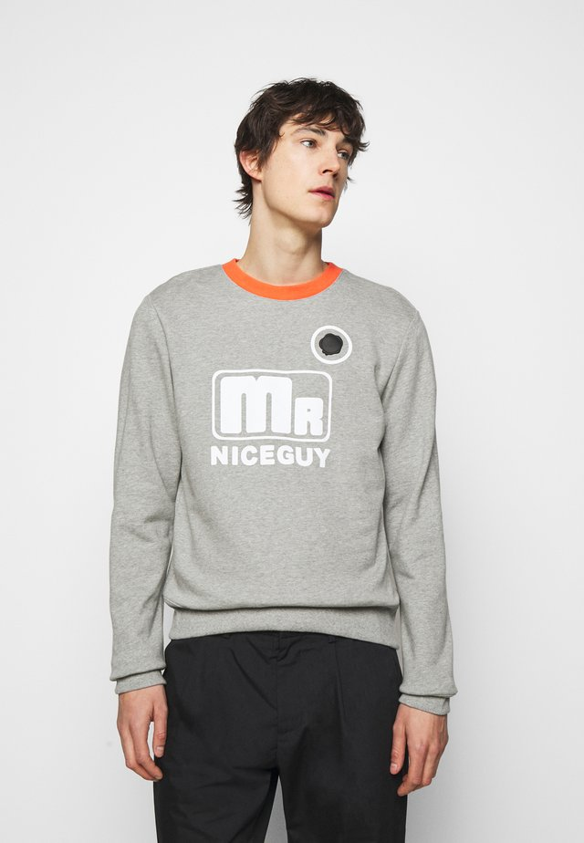 MR NICEGUY - Sweater - grey melange