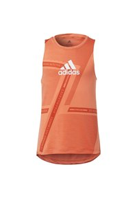 adidas Performance - TANK TOP - Sportshirt - orange - 0