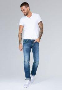 Camp David - Bootcut jeans - blue denim - 1