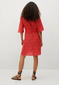 Mango - Day dress - rood - 2