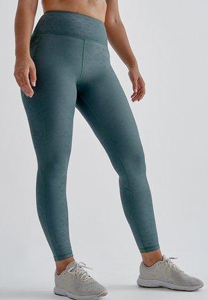 YUGEN - Leggings - Trousers - verde oscuro