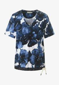 MARGITTES - Print T-shirt - blue - 5