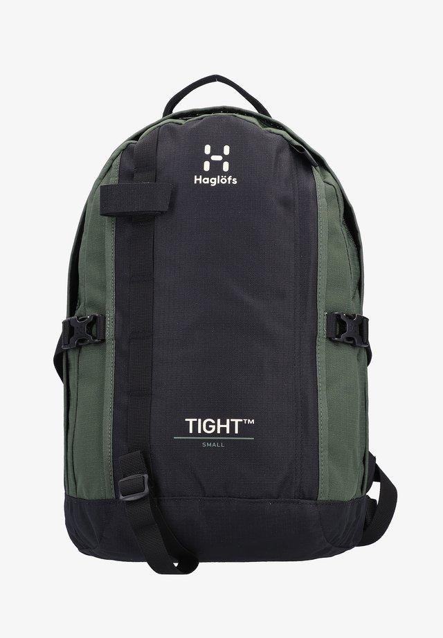TIGHT SMALL - Rucksack - true black/fjell green