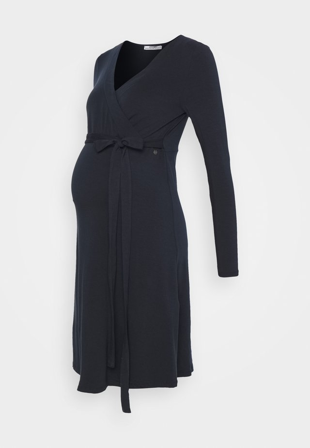 DRESS NURSING - Jersey dress - navy