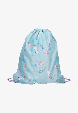ELSA UND ANNA  - Drawstring sports bag - light blue
