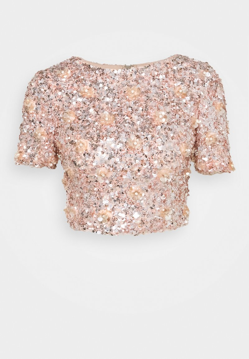 Lace & Beads - LETTY - Blouse - nude