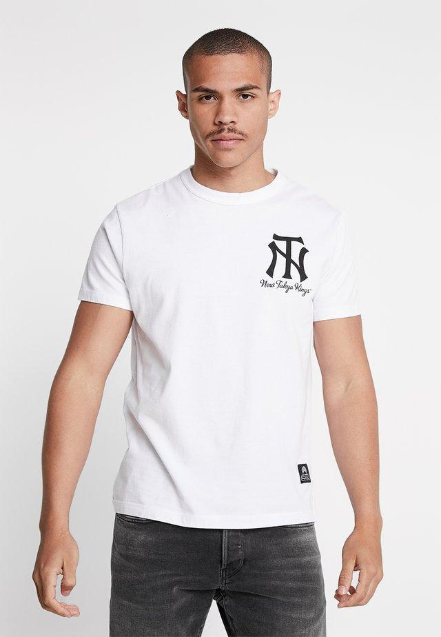 DARIUS - T-shirt imprimé - white