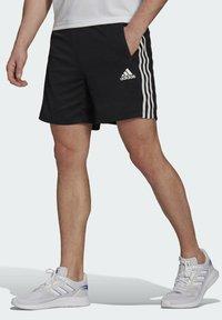 adidas Performance - PRIMEBLUE DESIGNED TO MOVE SPORT 3-STRIPES SHORTS - Sports shorts - black - 0