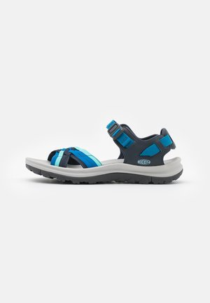 TERRADORA II STRAPPY OPEN TOE - Outdoorsandalen - navy/mykonos blue