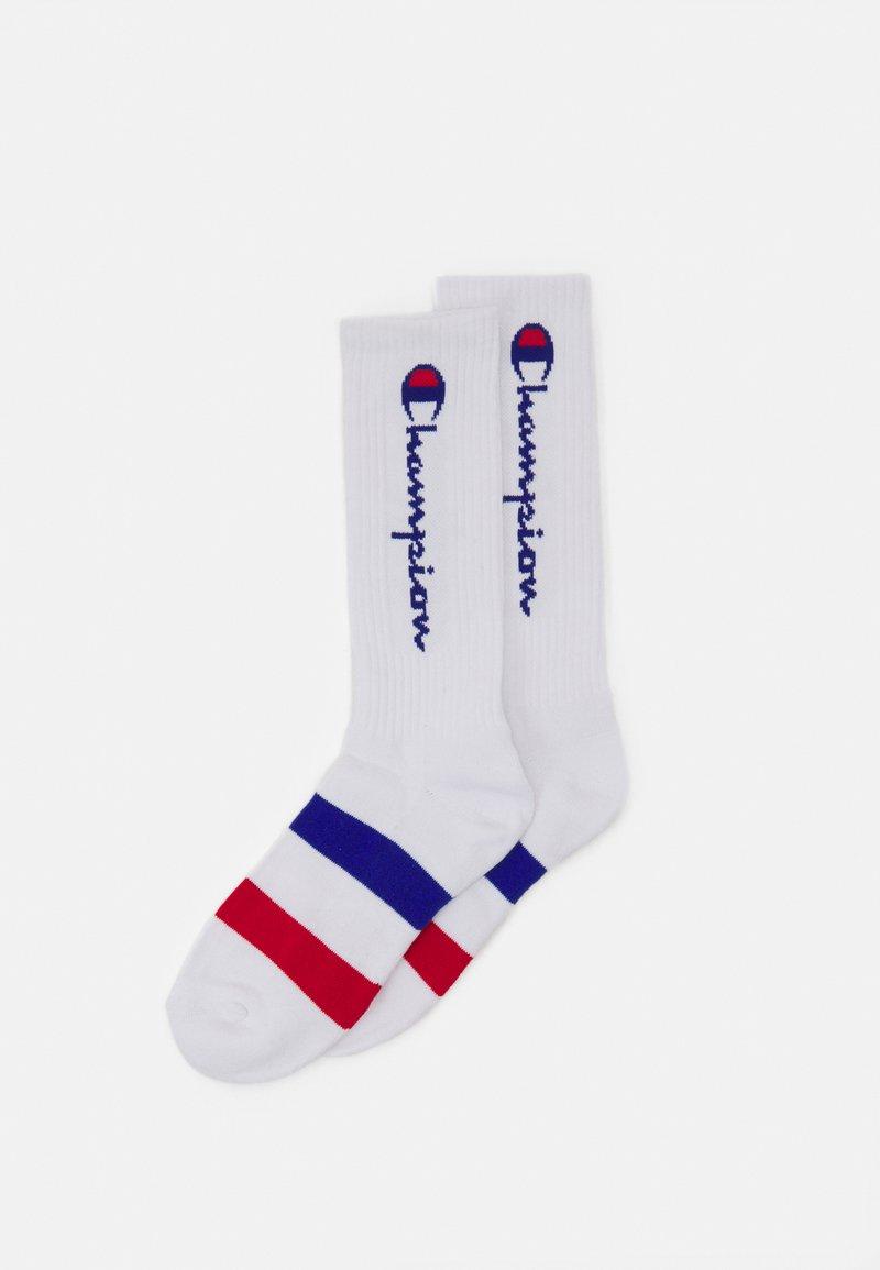 Champion - ROCHES 2 PACK UNISEX - Sports socks - white