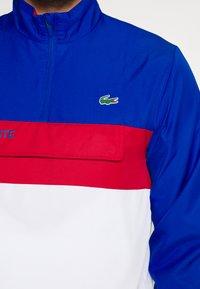 Lacoste Sport - TRACKSUIT - Trainingspak - lazuli/white/ruby - 7