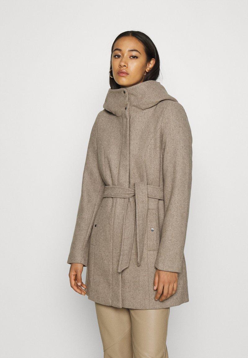 Vero Moda - VMCLASSLIVA JACKET - Krátký kabát - sepia tint melange